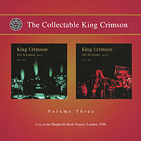 "The Collectable King Crimson Volume 3 Live In London: Part 1 & 2, 1996 (2 CD) Elephant Talk Исполнитель ""King Crimson"" артикул 1996a."