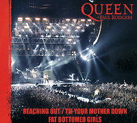 Queen + Paul Rodgers Reaching Out / Tie Your Mother Down / Fat Bottomed Girls Формат: CD-Single (Maxi Single) (Slim Case) Дистрибьюторы: Parlophone, Gala Records Лицензионные товары Характеристики инфо 3094a.